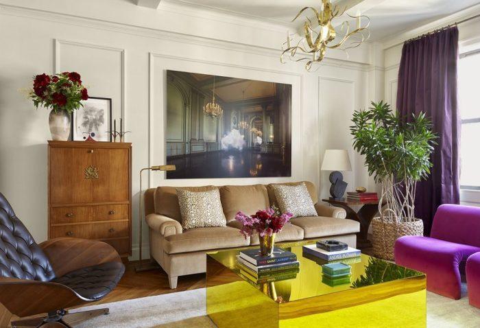 Purple Living Room Curtain Ideas