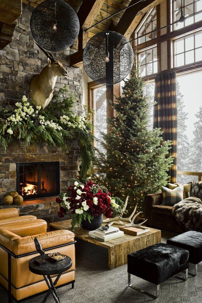 Rustic Living Room Curtain Ideas