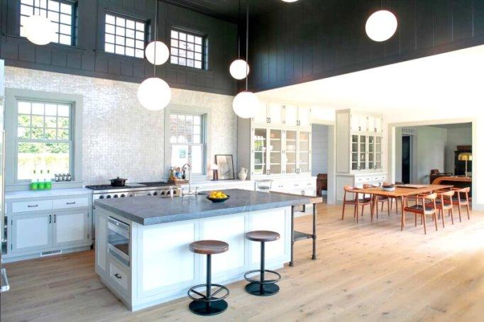 mid century modern kitchen images
