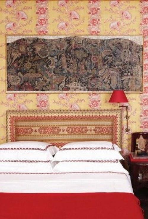 red bedroom furniture