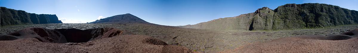 Piton de la Fournaise à la Réunion