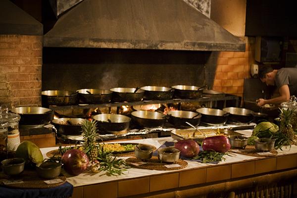 Restaurant La Marmite à l'Hermitage ile de la réunion