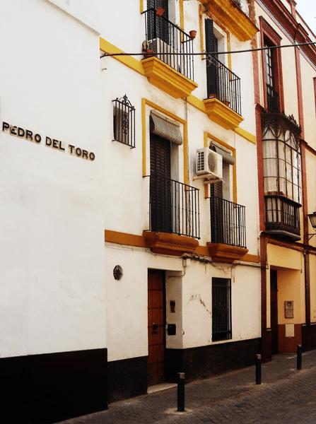 Rue pavée de séville - Pedro del Toro