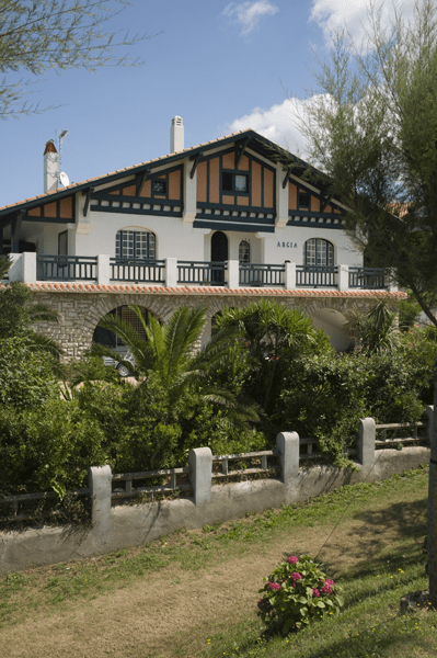 Villa basque à Bidart