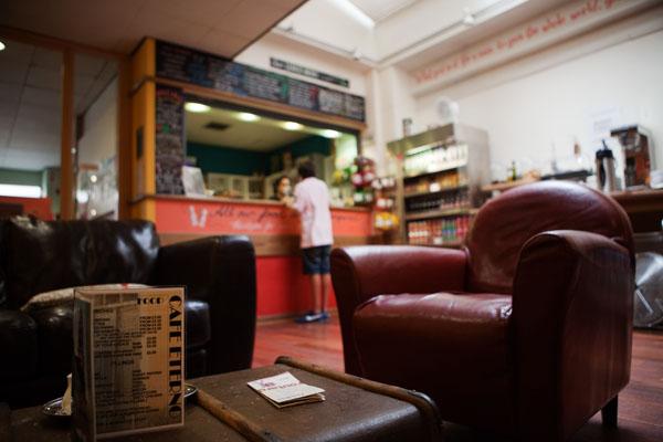 Café Eterno sur Neal Street - Londres