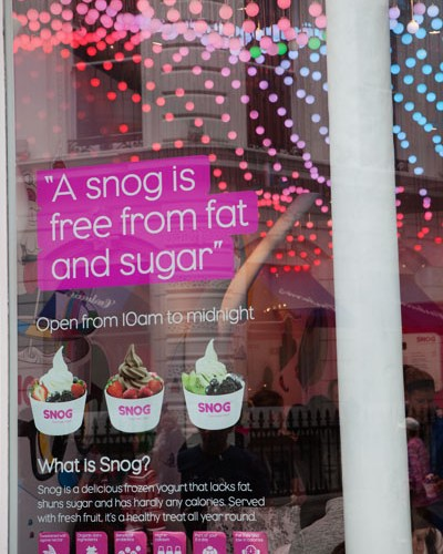 Snog frozen yogurt londres