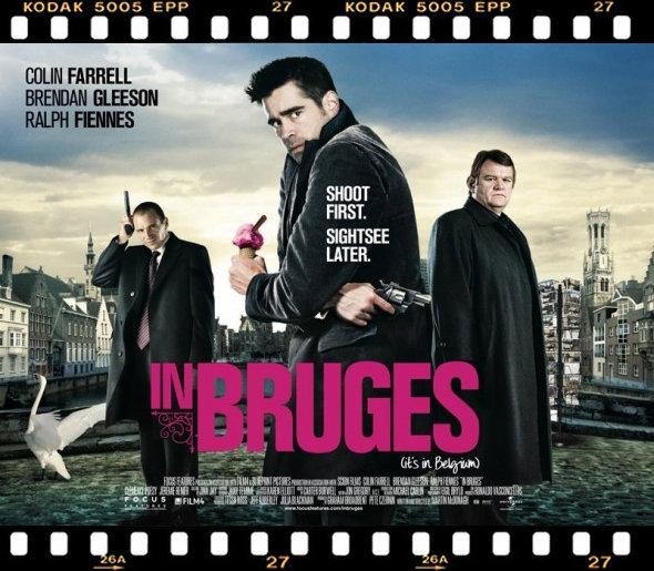 """Affiche du film """"In Bruges"""" 2008"""