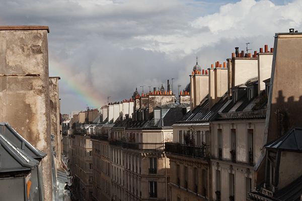 Arc en ciel à paris