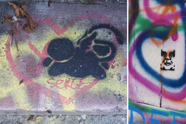 Monsieur Chat & Obey chez Gainsbourg