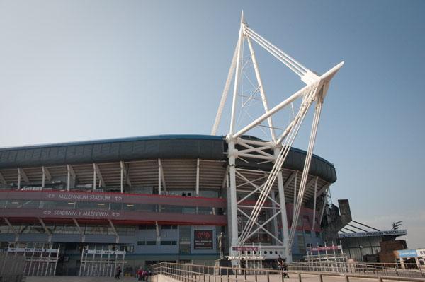 Millenium stadium à Cardiff