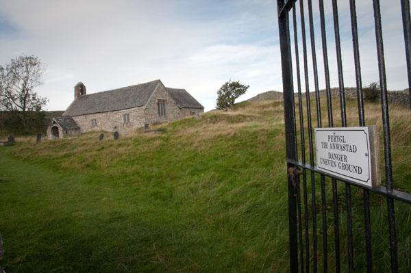 Eglise de Llangelynnin pays de galles