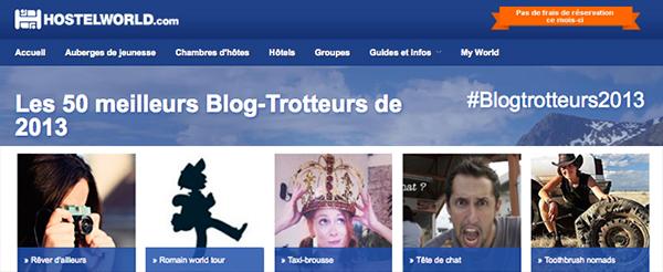 ReverDailleurs parmi les 50 meilleurs Blog-Trotteurs 2013
