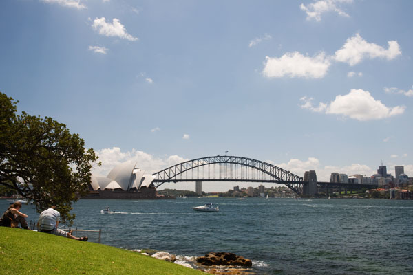 Sydney Opera House et Harbour Bridge