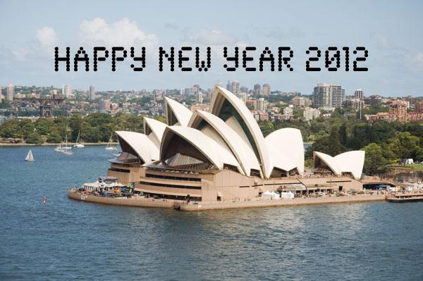 Bonne Année 2012 depuis Sydney