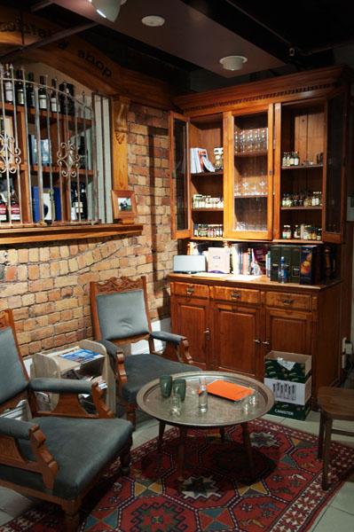 Bar et boutiques à Whisky Elliott Stables Auckland