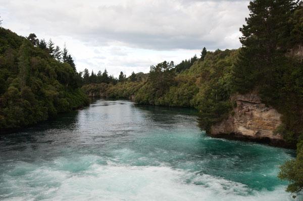Huka Falls Nouvelle Zélande