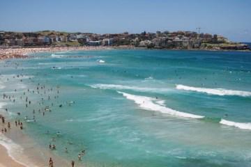 Bondi Beach à Sydney (Australie)