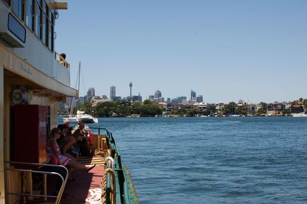 Cockatoo Island à Sydney