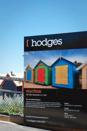 vente aux enchères pour une maison à Brighton