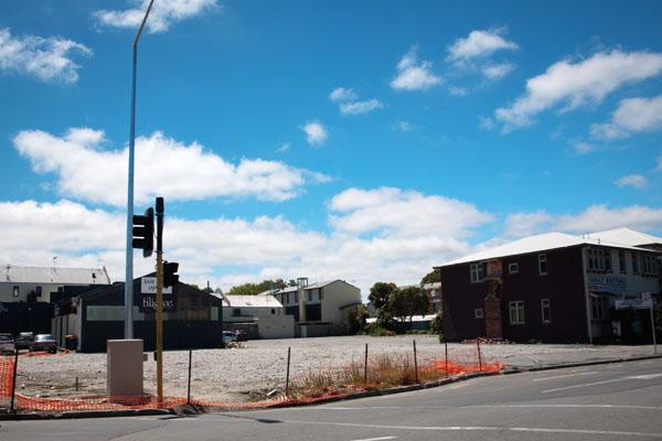 Christchurch après le sinistre de février 2011