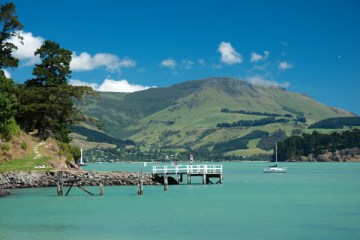 Corsair bay proche de Lyttelton (NZ)