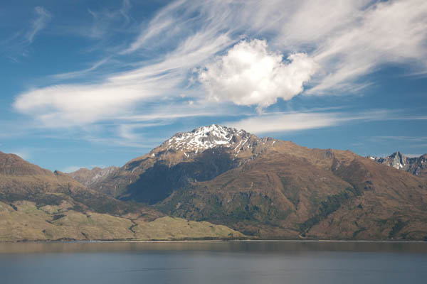 Point de vue sur le Lake Wanaka