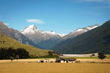 Une ferme de Nouvelle-Zélande