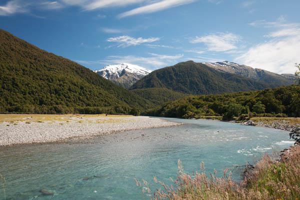 Blue Pools Nouvelle-Zélande