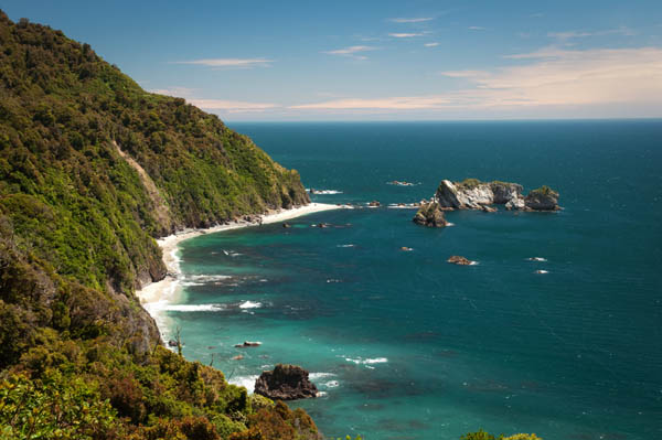Côte Ouest de Nouvelle-Zélande