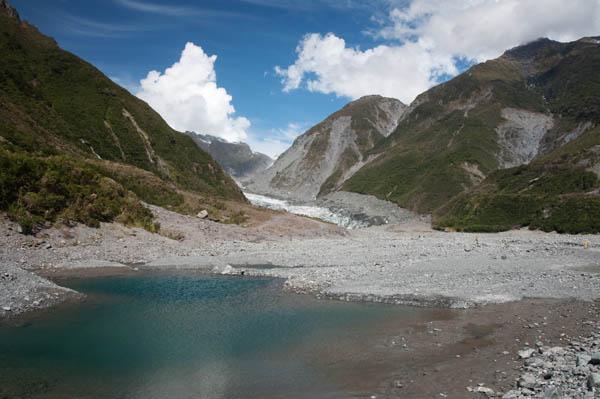 Fox Glacier en Nouvelle-Zélande