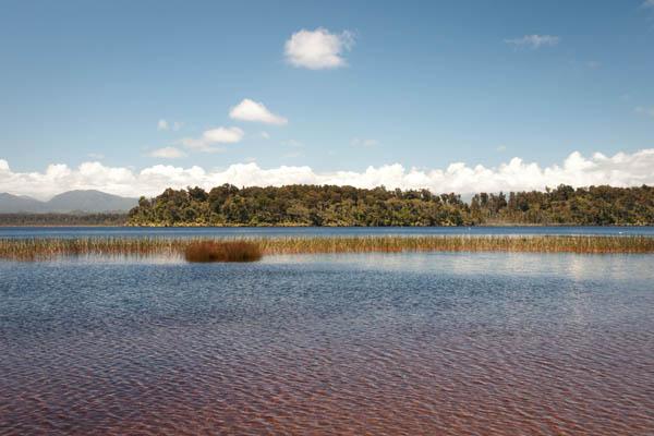 Lake Mahinapua Nouvelle-Zélande