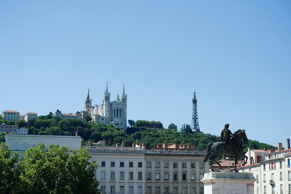 Lyon - Basilique de Fourvière