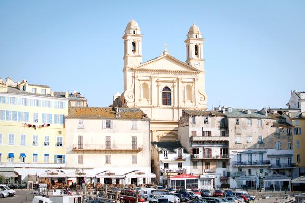 Port de Bastia en Corse