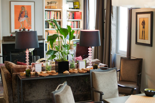 Salon de Villa Madame Paris