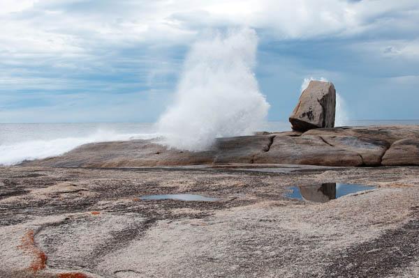 La fin de la péninsule de Freycinet à Bicheno