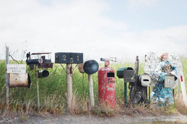 Boites aux lettres de Wilmot en tasmanie