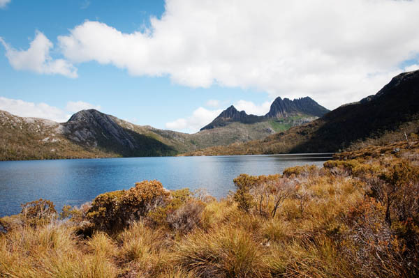 Dove lake randonnée Craddle Moutain Tasmanie