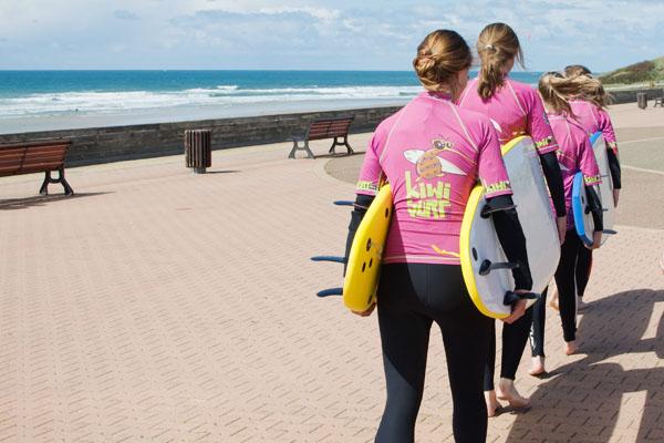 Ecole Kiwi surf à Bisacrosse