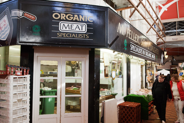 Organic covered market oxford