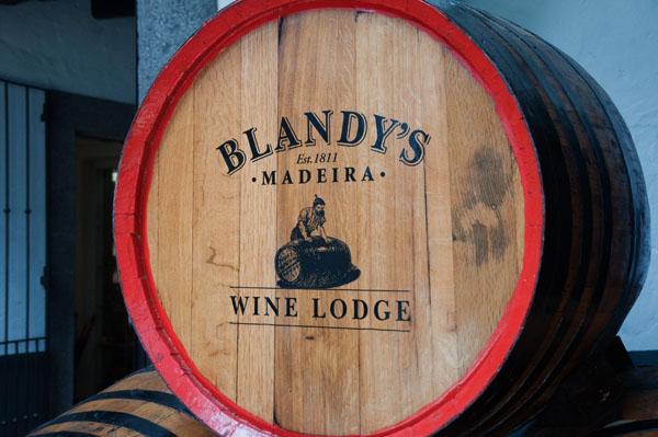 Blandy's Wine Lodge à Funchal, Madère