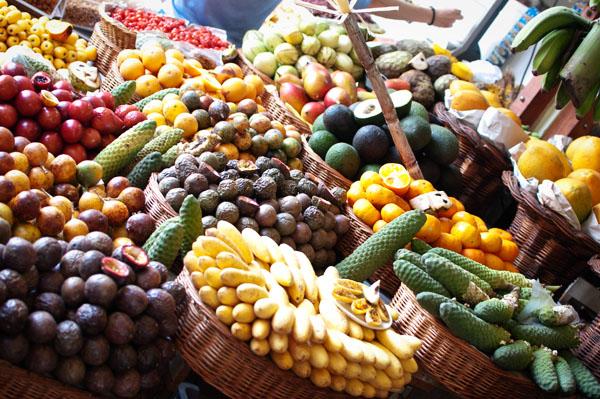 Marché de Funchal paradis des fruits exotiques