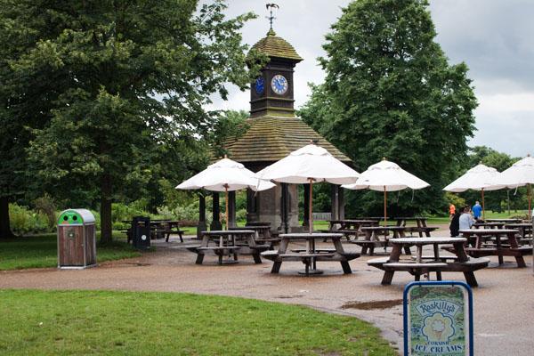 Picnic à Hyde Park Londres