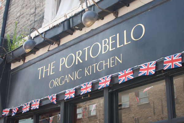The Portobello Organic Kitchen Londres