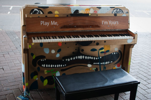 Play me I'm Yours Londres