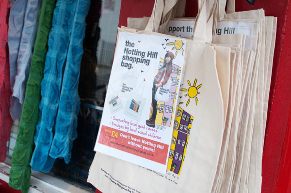 The Notting Hill shopping bag Londres