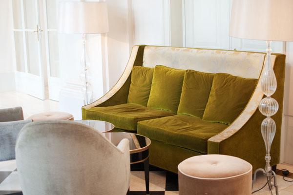 Les salons de l'Hôtel Spa Trianon Palace à Versailles
