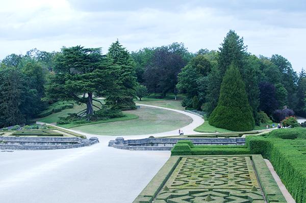 Parc à l'anglaise Château de Hautefort