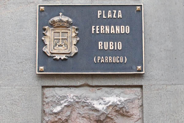 Plaza Fernando Rubio à Oviedo