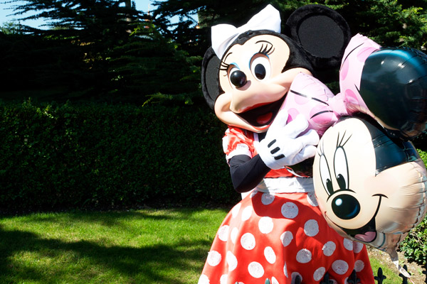 Minnie - Personnages Disneyland