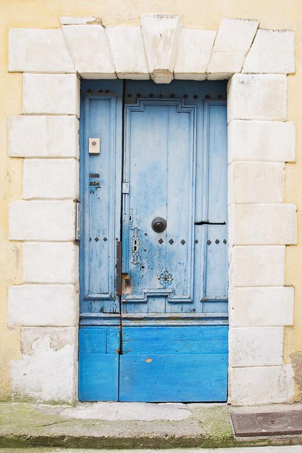 Portes colorées Arles